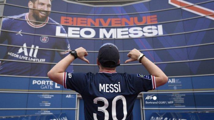 Legenda NBA Michael Jordan Kecipratan Untung dengan Kehadiran Lionel Messi di PSG