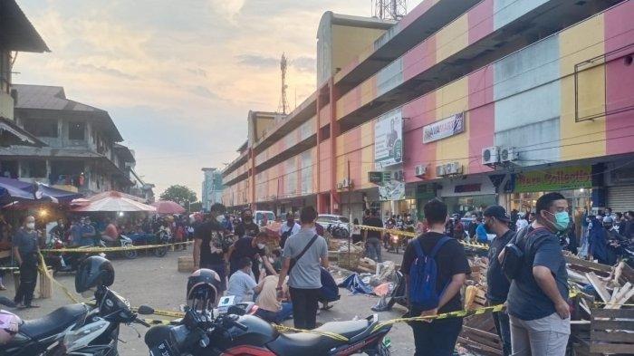 Seorang Pria Tewas Ditikam Pisau Dapur di Depan Samarinda Shoping Center Jodoh Batam