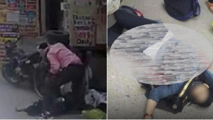 Seorang suami nekat menikam istrinya hingga tewas,