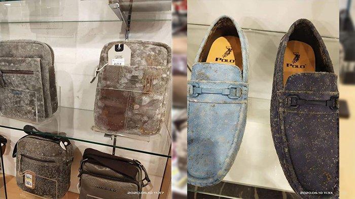 Viral Potret Tas dan Sepatu di Mal Jamuran setelah Lockdown 2 Bulan
