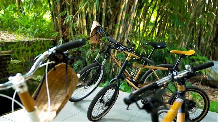 Sepeda bambu hasil produksi Spedagi (Istimewa)