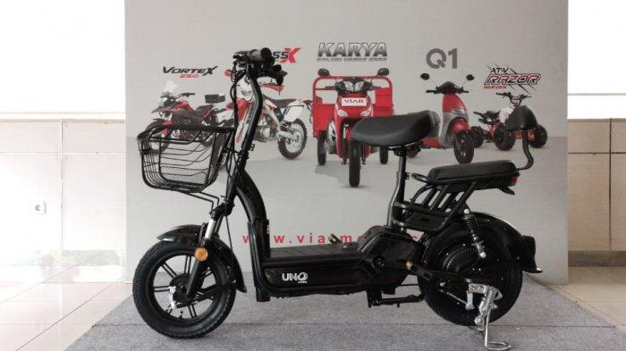 Sepeda listrik Viar Uno.