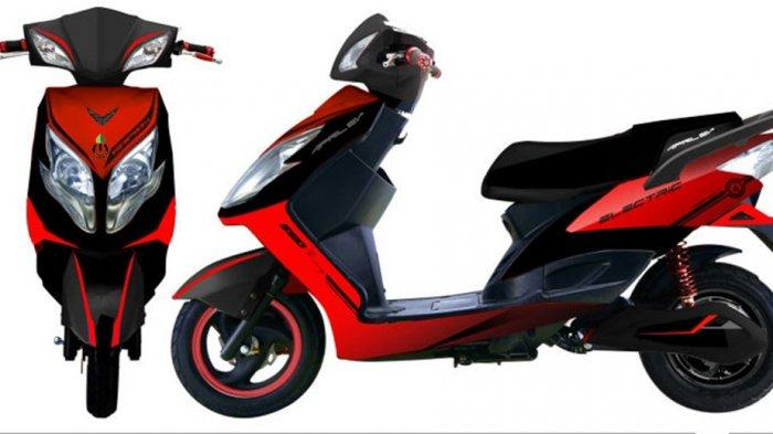 Sepeda motor listrik Moli Treeletrik