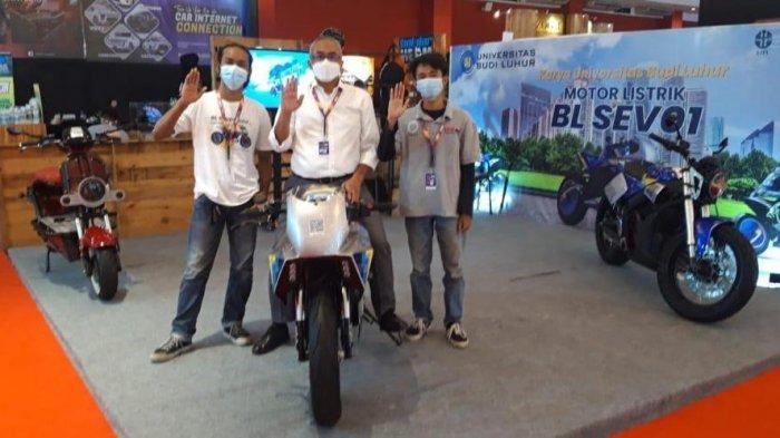 Sepeda motor listrik UBL_