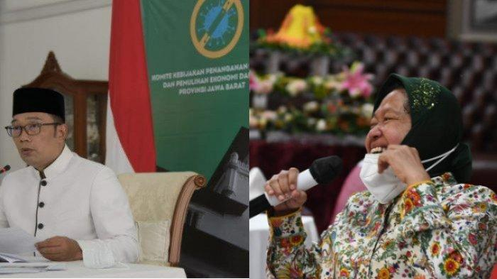 Sependapat, Dua Kepala Daerah, Ridwan Kamil dan Risma Larang Warganya Rayakan Tahun Baru