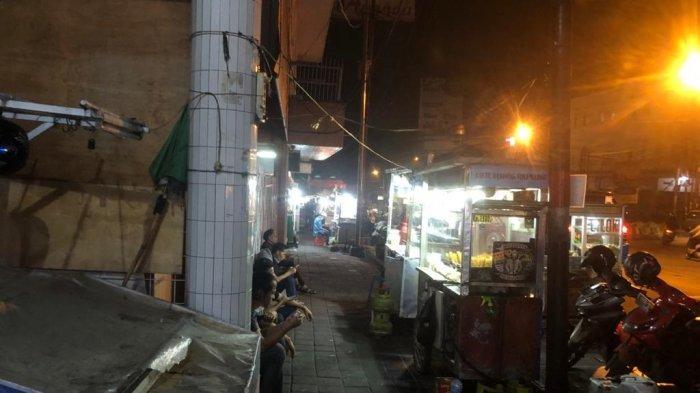 PPKM Level 4, Pusat Jajanan Malam Jembatan Merah Bogor Sepi Pengunjung