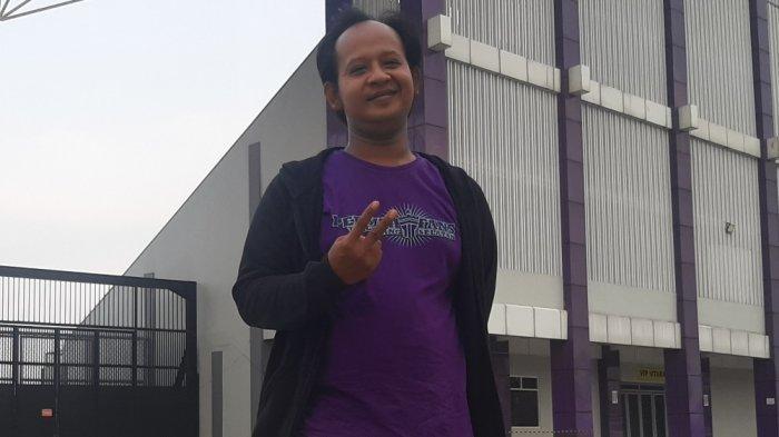 Septian Enjoh: Komitmen Laviola Tetap Tertib Saat Mendukung Persita Tangerang