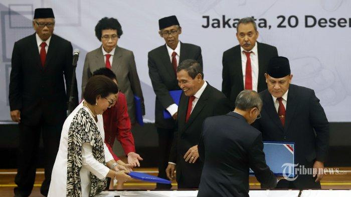 Presiden Jokowi Teken PP Pengangkatan Dewas KPK