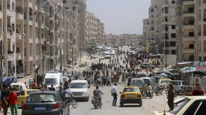 Pasukan Suriah Lancarkan Serangan Udara Mematikan ke Idlib