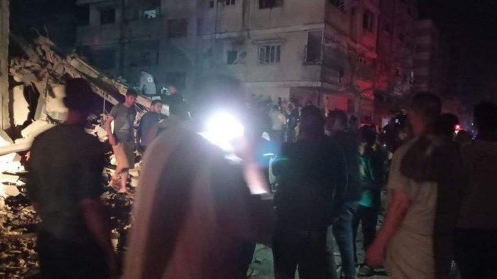 Serangan Israel di Kamp Shati Gaza Tewaskan 10 Orang Termasuk 8 Anak-anak, Semuanya Anggota Keluarga