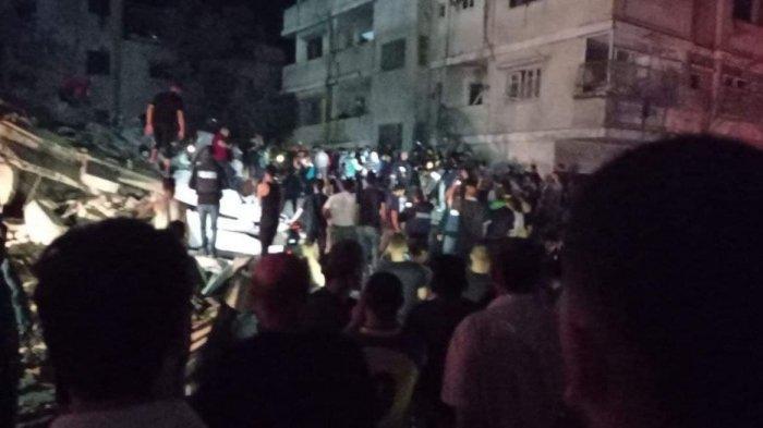 Korban Tewas Akibat Serangan Brutal Israel di Gaza Melonjak Jadi 126 Orang, 31 Diantaranya Anak-anak