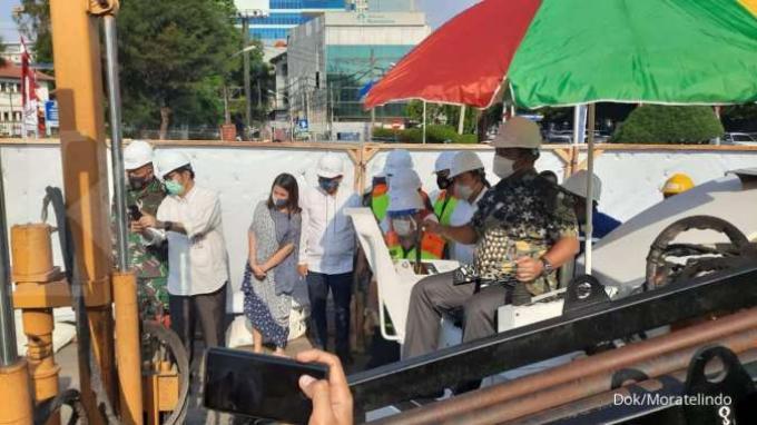 Moratelindo Mulai Proyek Saluran Kabel Serat Optik di Semarang
