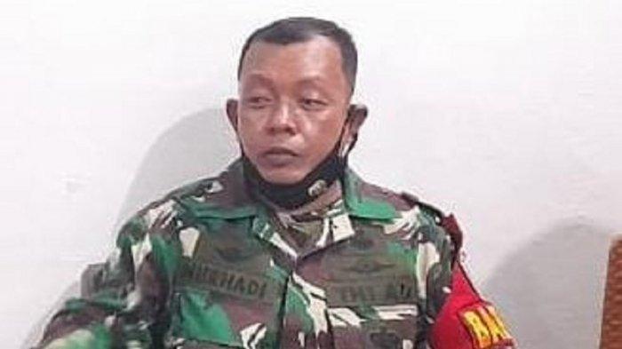 Serda Nurhadi, anggota Babinsa Semper Timur Kodim 05-2/Jakarta Utara