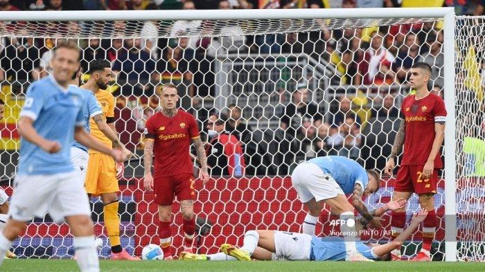 Hasil Lazio vs AS Roma Liga Italia Babak I - SMS Cetak Gol Cepat, Giallorossi Tertinggal 2-1
