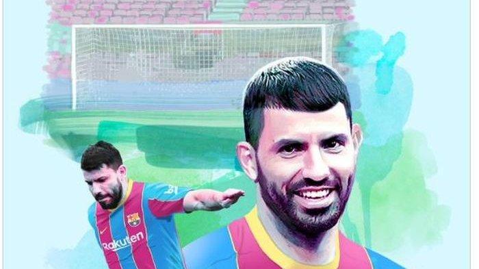 Sergio Aguero resmi menjadi pemain Barcelona.