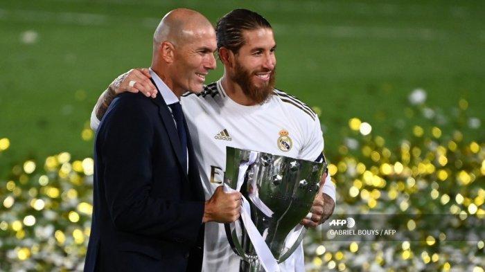 Real Madrid memastikan diri menjadi juara Liga Spanyol musim 2019/2020 dengan mengalahkan Villarreal lewat skor 2-1, Jumat (17/7/2020)