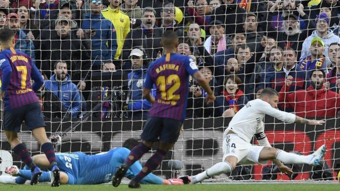 Hasil Klasemen Liga Spanyol Pekan 28: Barcelona dan Real Madrid Menang , Papan Atas Memanas