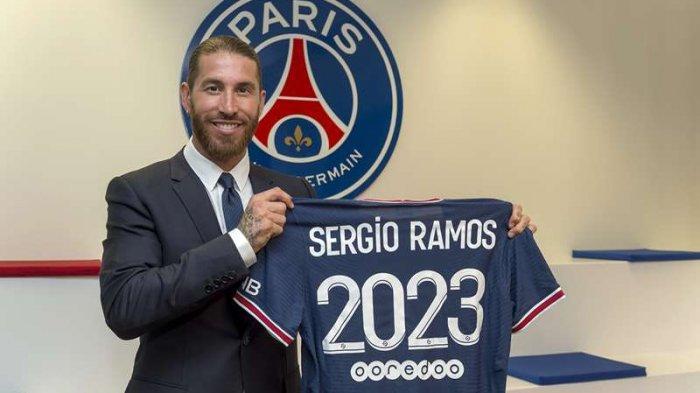 Sergio Ramos resmi bergabung dengan Paris Saint Germain sampai Juni 2023