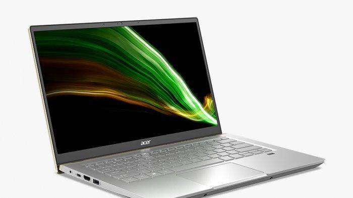 Seri laptop Acer Swift X ditenagai arsitektur inti AMD 'Zen 3' yang sangat efisien dan sangat bertenaga, dan sanggup menghadirkan masa pakai baterai yang mengesankan