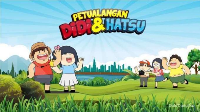 Daihatsu Edukasi Anak Lewat Film Pendek Petualangan Didi dan Hatsu