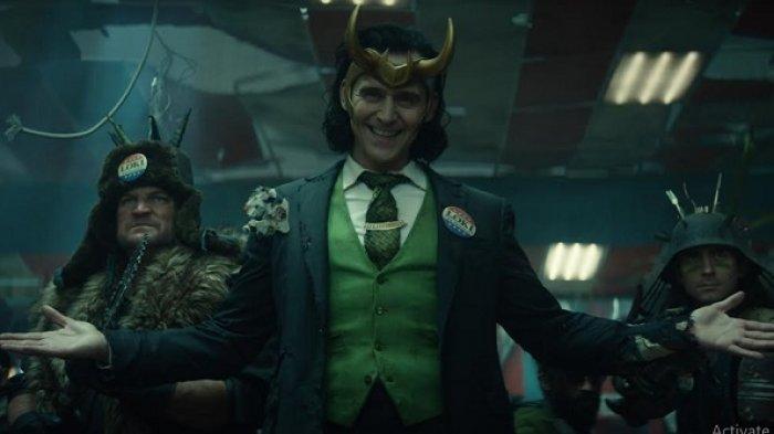 Cuplikan serial Loki yang tayang di platform Disney+ Hotstar mulai hari ini, Rabu (9/6/2021).