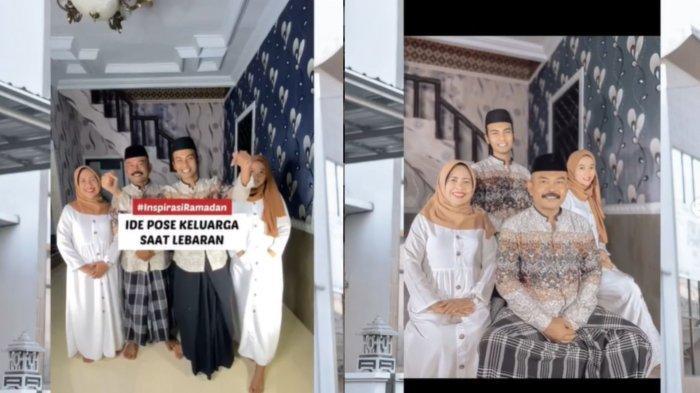 Sering Dapati Keluarga Mati Gaya Saat Foto Bersama, Pemuda ini Beri Tips Foto Lebaran hingga Viral