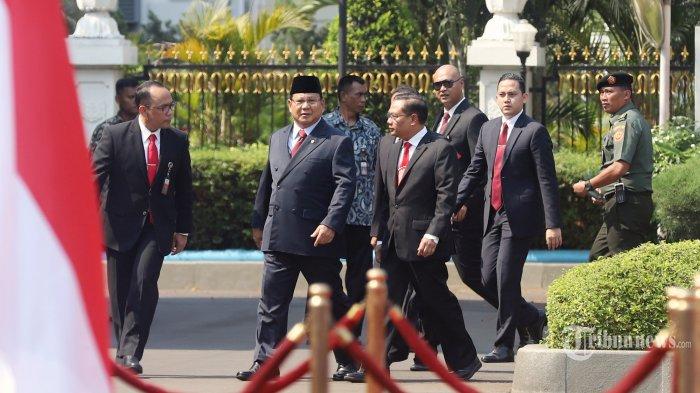 Soal Prabowo Jabat Menhan, KIP: Jokowi Pentingkan Bangsa Ketimbang Ego