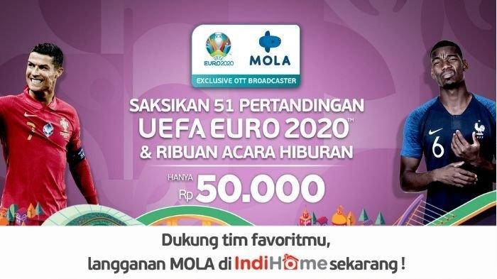 Serunya UEFA EURO 2020™️ di MOLA, Kini Tersedia di IndiHome TV!