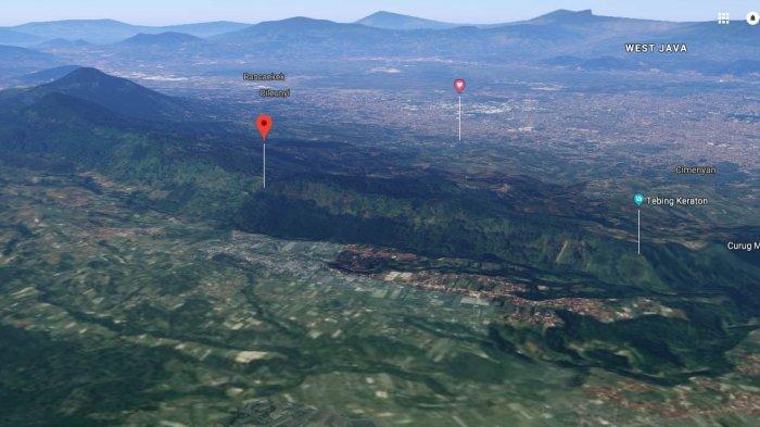 Mengenal Patahan Lembang, Sesar Geser yang Memotong Lembang dan Pernah Menyebabkan Gempa 7 SR