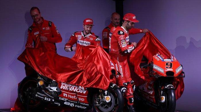 MotoGP 2020, Dovi Berharap Desmosedici GP20 Gampang Diajak Belok, Petrucci?