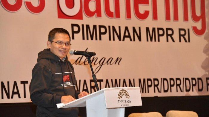 Sesjen MPR Ma'ruf Cahyono: Perlu Sinergitas MPR dan Wartawan Parlemen