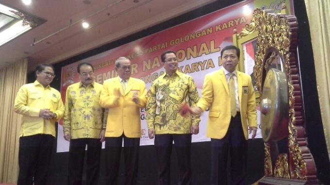 Setya Novanto Puji Pendekatan Presiden Jokowi ke Rakyat