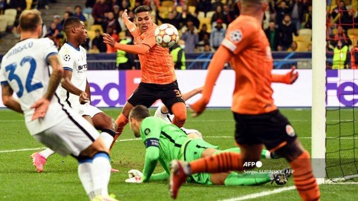 Hasil Liga Champions - Inter Milan Buang-buang Peluang, Nerazzurri Gagal Raih Tiga Angka