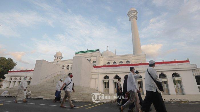 Pandemi Covid-19, Masjid Agung Al-Azhar Gelar Bukber Drive-Thru