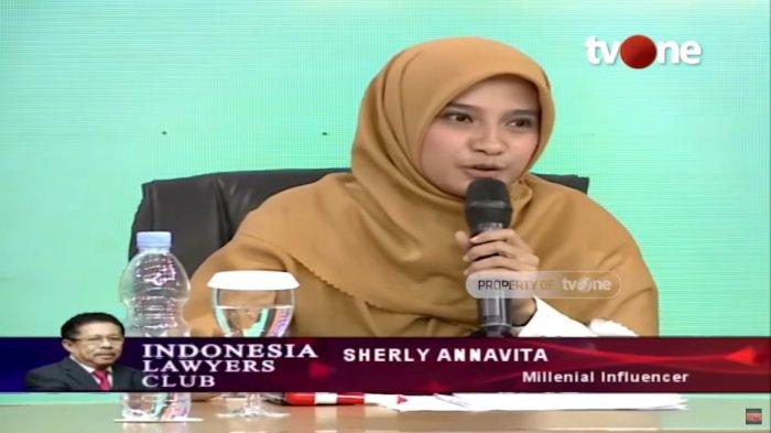 Selain di ILC TVOne, Sherly Annavita Pernah Sindir Lewat Unggahan 'Maaf Saya Akan Dukung Jokowi'