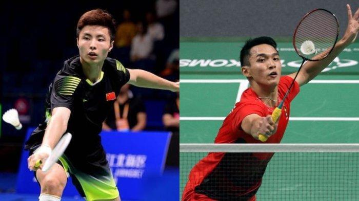 Pebulutangkis China, Shi Yuqi Berikan Pujian atas Permainan Jonatan Christie di Asian Games 2018