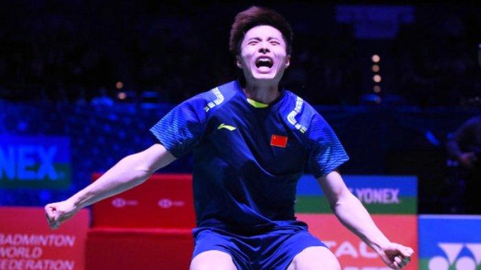 Kelelahan Kento Momota Saat Kalahkan Anthony Ginting pada Semifinal Sudah Diketahui Shi Yuqi