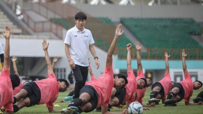 Timnas U-19 Indonesia Gelar Uji Coba, Shin Tae-yong Soroti Satu Permasalahan