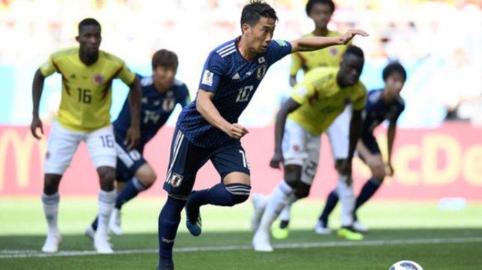 Shinji Kagawa, Kolombia vs Jepang