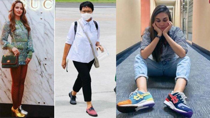 Sepatu Beda Warna Menlu Retno yang Bikin Salfok, Luna Maya hingga Nia Ramadhani Juga Pakai