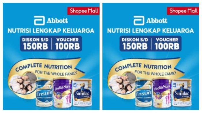 Rayakan Hari Nutrisi Keluarga, Abbott dan Shopee Galakkan Asupan Bergizi dan Hidup Sehat