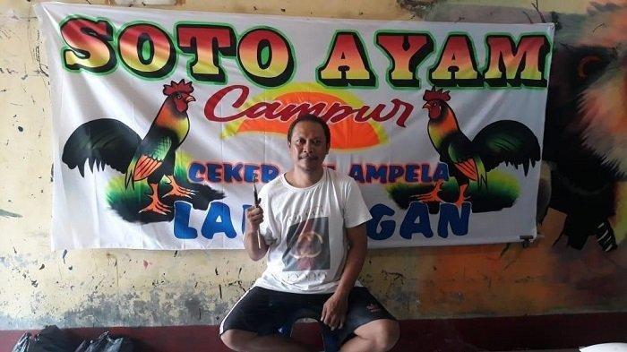 Hartono Si Pelukis Spanduk Pecel Lele, Karyanya Mejeng Hingga ke Papua