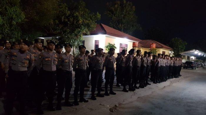 Pasca Gempa Bumi 7.4 SR, Patroli Polda Banten Imbau Masyarakat Naik ke Perbukitan