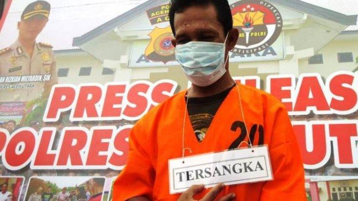 Pemuda yang Perkosa Seorang Nenek di Aceh Utara Siap Bertanggungjawab Kalau Si Nenek Hamil