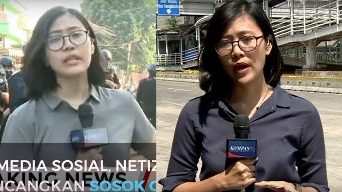 VIRAL Cindy Permadi, Reporter Kompas TV hingga Ini Ceritanya Dibalik Peliputan Aksi 22 Mei