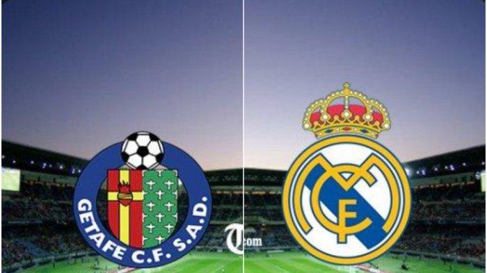 Prediksi Getafe Vs Real Madrid Liga Spanyol Pekan 34, Live SCTV pukul 02.30 WIB