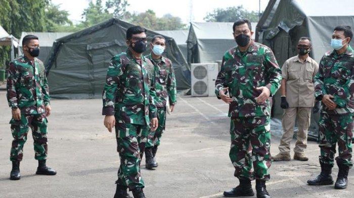Panglima TNI Cek Kesiapan Rumkitlap untuk Pasien Covid-19 diRSAU dr Esnawan Antariksa
