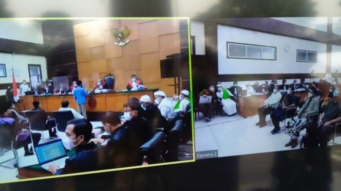 Dua Wartawan yang Jadi Saksi Tak Hadir, Sidang Rizieq Kasus Tes Swab Dilanjut Pekan Depan