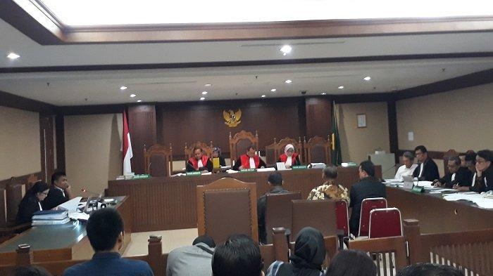 Mantan Panitera Pengadilan Negeri Jakarta Pusat Bersaksi dalam Sidang Eddy Sindoro