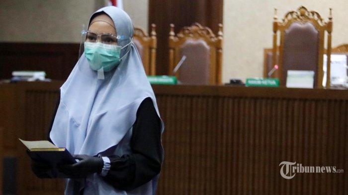 Pinangki Bantah Sebut Nama Hatta dan Burhanuddin, Minta Maaf, Siapa yang Bermain di Dakwaan Jaksa?
